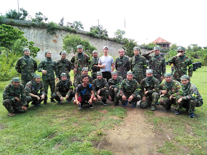 Paintball Bali at Jimbaran Hill