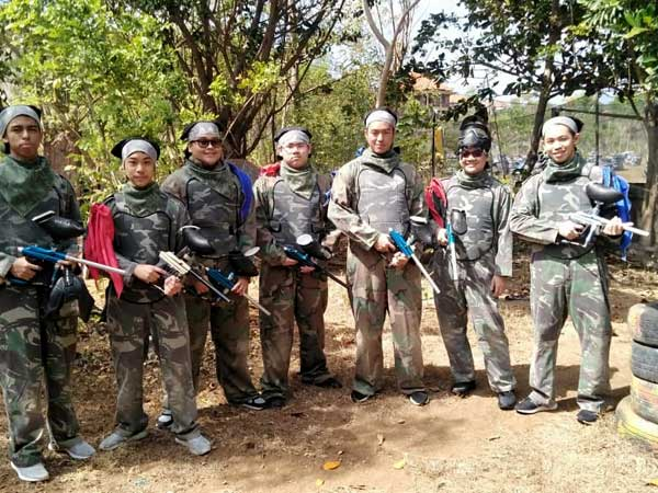 Paintball in Bali